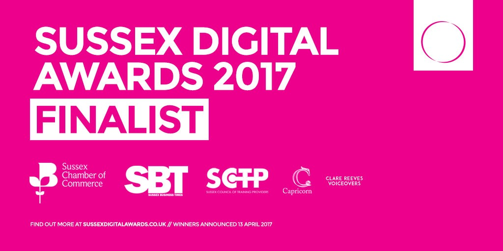 Glide Training in the media - Sussex Digital Awards 2017